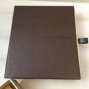 """Louis Vuitton Accessories - Set of 2 Louis Vuitton Empty Box &Dust Bag 5.87""""x5"""